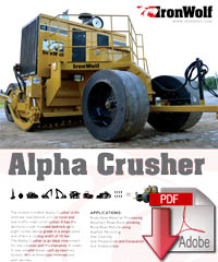 alpha crusher specs